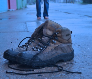 The boots that I didn't leave in Africa...